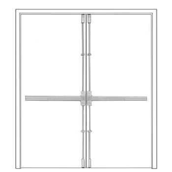 Vertical Rod Panic Device Doorware Com