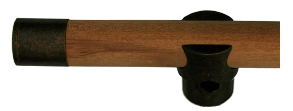 First Impressions 10SW Mahogany Mahogany Wood Door Handle Detailed Picture