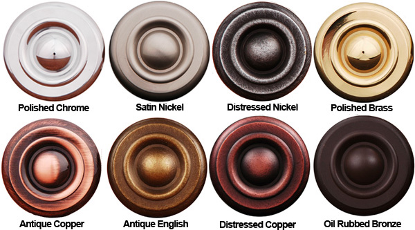 Door Hardware Finishes Amp Most Popular Finish