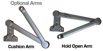 TC1461 Optional Door Closer Arms
