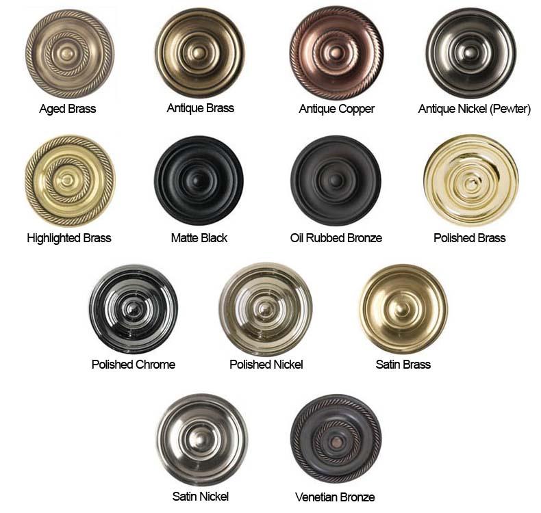 Brass Accents Finish Colors Doorware Com