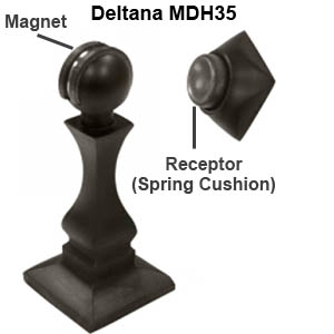 Deltana MDH35 magnetic door stop