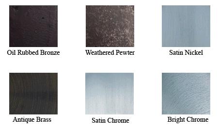 weslock door hardware finish color chart - Weslock