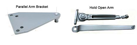 Door Closer Accessories Arms