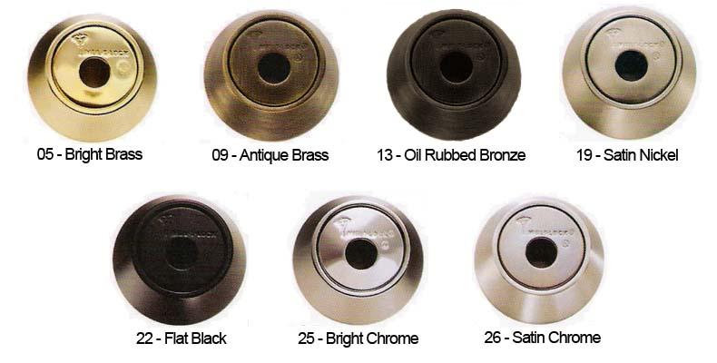 Mul-T-Lock Finish Colors - Doorware com